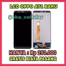 Lcd Oppo A71 Murah dan gratis pasang (EKA CELL PS)