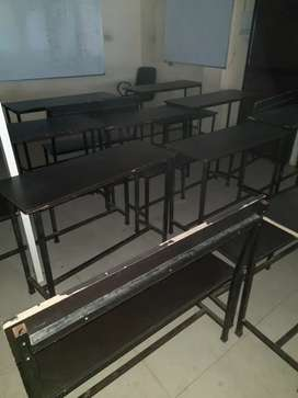 New  twenty pair of desk bench available