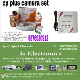 Cctv camera, Epabx installation and fitting for