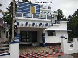 kumbanad 7 cent 3bedroom new house 58 lakhs