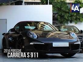 Porsche 911 Carrera S Cabriolet, 2014, Petrol