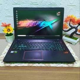 laptop ASUS ROG i7 RAM 8GB HDD 1TB bekas second