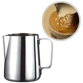 Gelas Pitcher Kopi Espresso Latte Stainless Steel 350 ml Termurah COD