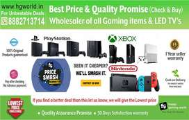Best in budget Ps Vr,PS2,PS3,PS4,XBOX,Switch All Gaming items & Led Tv