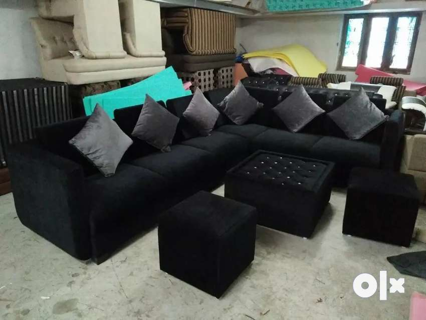 L corner sofa set 0