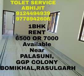 Good 1BHK House Available Near Palasuni,GGP Colony, Rasulgarh