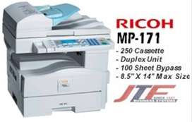 Photocopy printer Ricoh 161 Ricoh 171 Laserjet Machine for Office