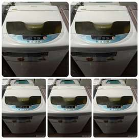 5 year warranty top loaded FULLY AUTOMATIC WASHING MACHINE available