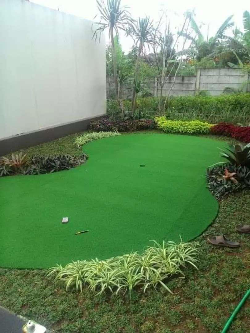 lapangan golf mini Rumput sintetis