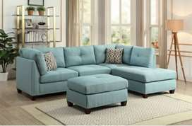 Latest version L pattern sofa with 5 years of warranty