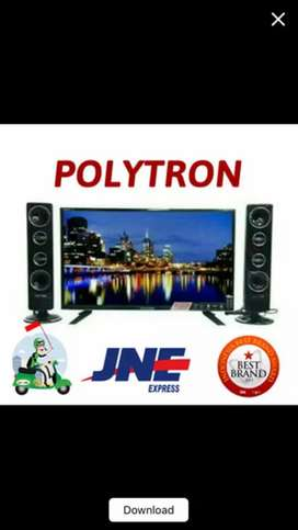 PROMO  Led Tv Polytron 32 T 1500 Tower Speaker USB Movie