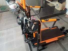 alat fitnes murah treadmill manual
