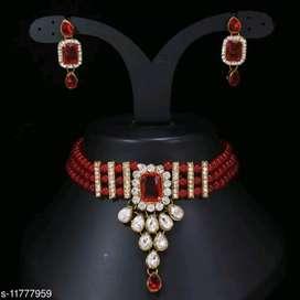 Jewellery set stone choker