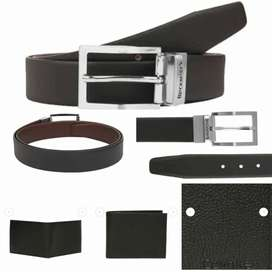 Calvin Klein wallet and black berry belt at very low price