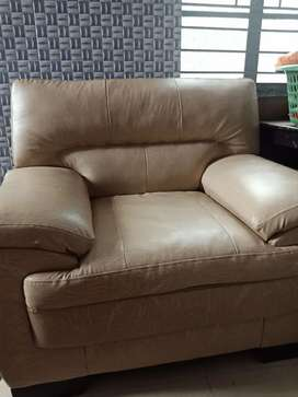 Italia Duster leather seater sofa