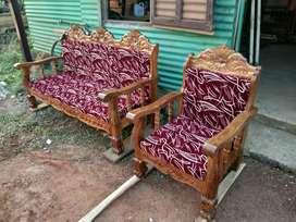 Wooden sofa set akasiya