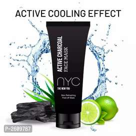 Charcoal peel of mask