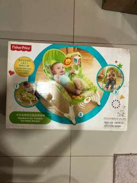 New bouncer fisher price