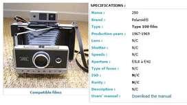 Polaroid type 250
