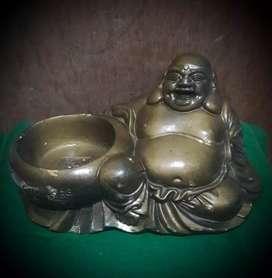 Patung Budha antik koleksi pajangan unik