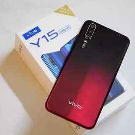 Vivo y15 ram 4gb internal 64gb - merah new // greess