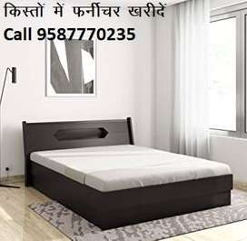Super Offer Double bed With Box 6990/- only, Factory Open