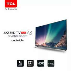 """HARGA LED TERMURAH TCL 43A8 Smart LED UHD 4K TV 43 IN 43"""" With Android"""