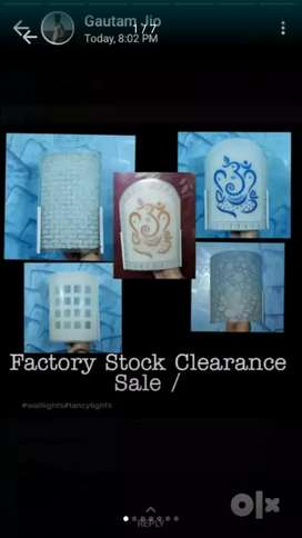 Factory sale Wall lights