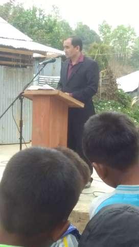 An English teacher who can teach upto class- X