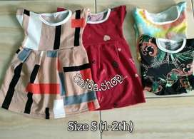 Dress anak murah S