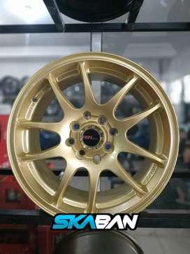 Jual velg racing HSR Ring 15 Untuk mobil Brio, Agya, Ayla(bisa Credit)