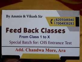 FEED-BACK CLASSES