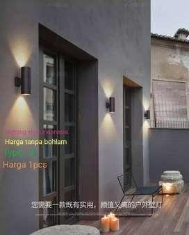 L013 /2a lampu dinding taman waterproof minimalis pilar pagar outdoor