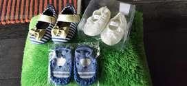 Sepatu bayi ukuran 11cm (baru dan bekas)