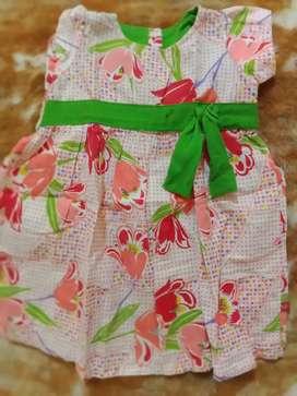dress motif bunga by hipo baby