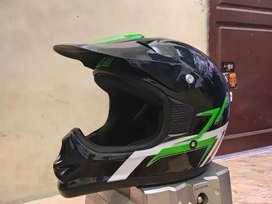 Helm trail klx cross kawasaki