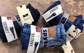Branded Jean's denim pants stock lot