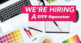 Huge hiring for DTP operator male and female