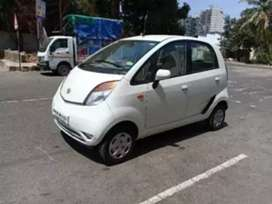 Immediate sale. Tata Nano white metallic Single owner  well maintained