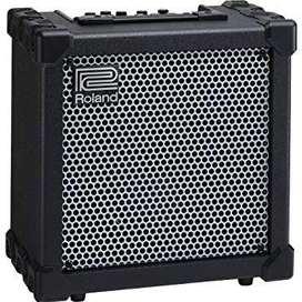 Guitar amplifier (Roland's Cube 20XL)