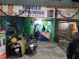 Located at main khirwa road this is the two floor shop
