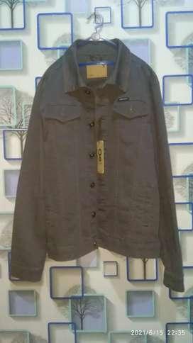 Jaket greenlight original ukuran L warna abu