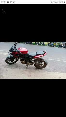 I want a 200 cc bike with finance  any body intrested plz msg me