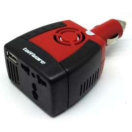 Taffware Power Car Inverter 150W 220V AC EU Plug 5V USB Charger iw1