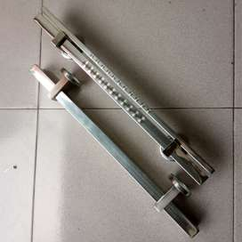 Handle Pintu Rumah Minimalis Stainless Grafir Twin 45 cm