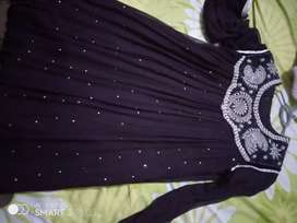 Plum frock (price is negotiable)