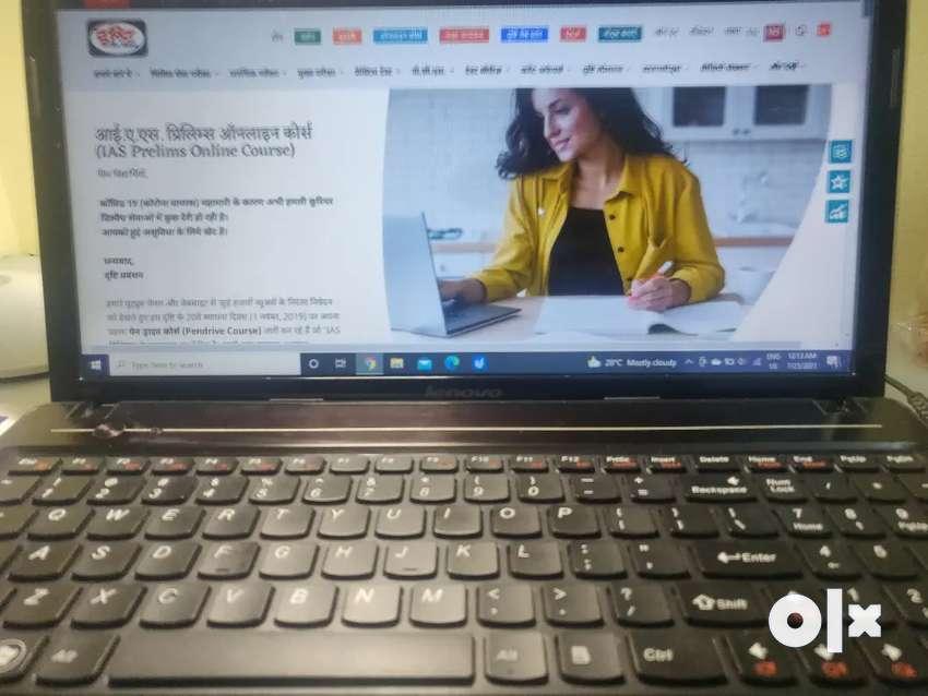 Dristi pen drive course with laptop