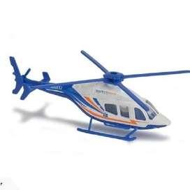 Majorette Helicopter Bell 429 Police Mercy Flight - White Blue