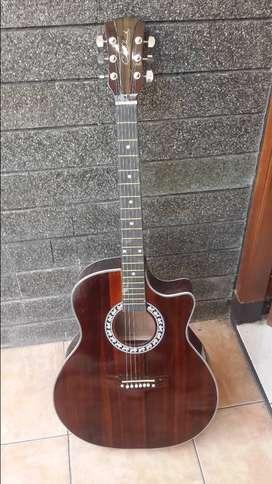 gitar akustik jumbo harga bersahabat