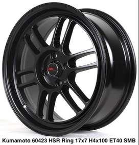 wheel KUMAMOTO 60423 HSR R17X7 H4X100 ET40 SMB